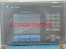 Used  PANELVIEW 600 2711-K6C10  in good condition  DHL/FEDEX Ship - $949.05