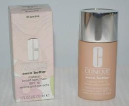 2 Clinique EVEN BETTER Liquid Makeup Broad Spectrum SPF 15 (31) ~SPICE~ - $8.99