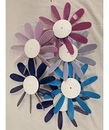 Beloit Plastics, LLC Classic Spinning Daisy 6 Pack, Blue Pink and Purple - $28.79