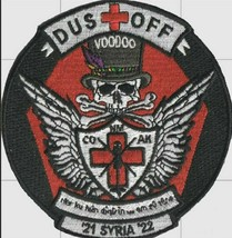 """US Army Guard Voodoo Dustoff Medevac Syria Embroidery Patch 4""""  - $13.85"""