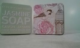 The Scottish Fine Soaps Co Soap Bar in a Tin Pink Amber Rose Jasmine 3.5oz LOT 2 image 5