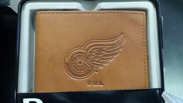 NHL Detroit Red Wings Embossed Billfold / Wallet - $39.19
