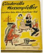 Cinderella Hassenpfeffer...Mein Grossfader - German - Vintage Book 1948 - $38.99