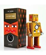 "LILLIPUT ROBOT 5"" Saint John Wind Up Tin Toy Collectible Retro Outer Spa... - $26.95"