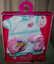 "Our Generation Healing Hearts Outfit For Most 18"" Dolls New - $20.88"