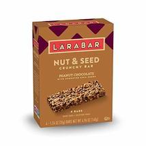 LARABAR Peanut Chocolate Nut and Seed Crunchy Bar, 4.96 oz - $12.00
