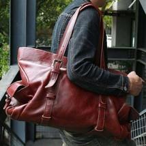 On Sale, Tote Bag, Full Grain Leather Shoulder Bag, Handmade Men Bag, Laptop Bag image 1