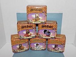 Set of 6 Harry Potter Magic Trinket Box Scrabbers Gringotts Norbert New (Z) - $84.14