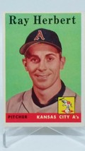 1958 Topps #379 Ray Herbert Vintage Baseball Card - $0.98