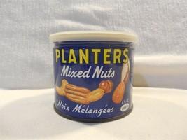 Vintage 1970's Planters Peanut Mr Peanut Canadian Mixed Nuts 6 1/2 Oz Ti... - $12.95