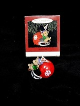 Hallmark Keepsake Ornament ~ Faithful Fan ~ 1995 New In Box ~ Free Shipping !!! - $5.62
