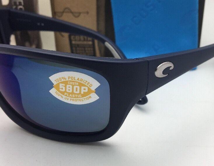 2b940a1c39 Polarized COSTA Sunglasses TASMAN SEA TAS 75 Matte Blue Frame w Grey+Blue  Mirror