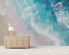 3D Blue Beach PKE891 Business Wallpaper Wall Mural Self-adhesive Commerc... - $13.49+