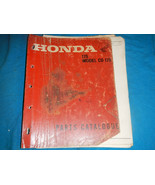 1968 68 1969 69 HONDA CD175 CD 175 CA175 CA 175 PARTS MANUAL BOOK CATALOG - $156.85