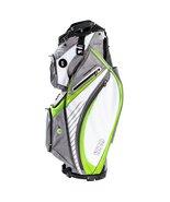 Izzo Gemini Golf Cart Bag, White/ Lime - $189.95