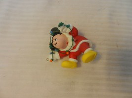 Mickey Mouse Stringing Lights Disney Character Christmas Ornament from 1987 - $29.70
