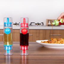 Plastic 2 in 1 Cooking Olive Oil Can Sprayer Dispenser Cruet Vinegar Spr... - $17.99
