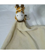 BoBo Buddies Giraffe Plush Lovey Security Blanket Baby Boy Girl Tan Brown - $12.86