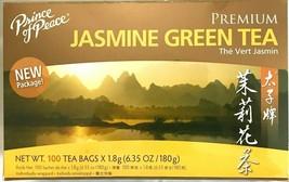 Prince of Peace Premium Jasmine Green Tea 6.35 Oz/180g - 100 Tea Bags - $10.15