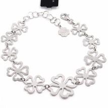Pulsera de Plata 925 ,Shamrocks Amuleto la Suerte,por Maria Ielpo ,Made ... - $114.40