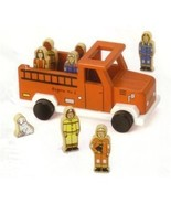 """Jack Rabbit to The Rescue My Little Wooden Firetruck 9"""" - $55.85"""