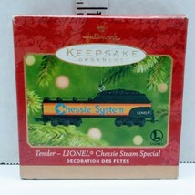 Tender Lionel Chessie Steam Special Christmas Ornament 2001 Hallmark - $9.89