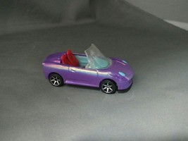 Mattel POLLY POCKET Polly Wheels Purple Color-vertible Car - $5.00