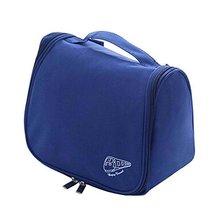 Useful Portable Cosmetic Bag Toiletry Bag Makeup Travel Bag Navy - £13.03 GBP