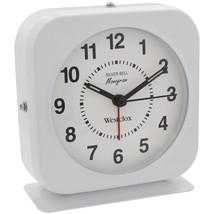 Westclox Bell Alarm Clock With Metal Case NYL15600QA - $27.34