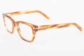 Tom Ford 5536-B 045 Light Brown Eyeglasses TF5536 B 045 51mm - $165.62