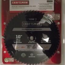 "Craftsman 17545 10"" x 60T Full Kerf Carbide Saw Blade Israel - $24.75"