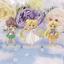 Pretty Soldier Sailor Moon Crystal collected figures for Girls 2 [ 3 typ... - $69.38