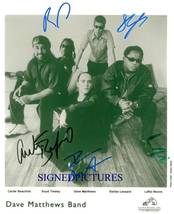 THE DAVE MATTHEWS BAND SIGNED AUTOGRAM AUTOGRAPH 8x10 RP PHOTO - $16.99