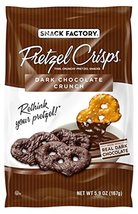 Snack Factory Pretzel Crisps, Dark Chocolate Crunch Covered Pretzels, 5.... - $11.99