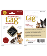 Microchip Awareness Pet ID Tag for Dogs and Cats (Small) - $19.18 CAD