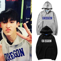 KPOP MONSTA X WONHO Hoodie The Tiger Moth Sweatshirt OREGON Letter Pullo... - $16.82+