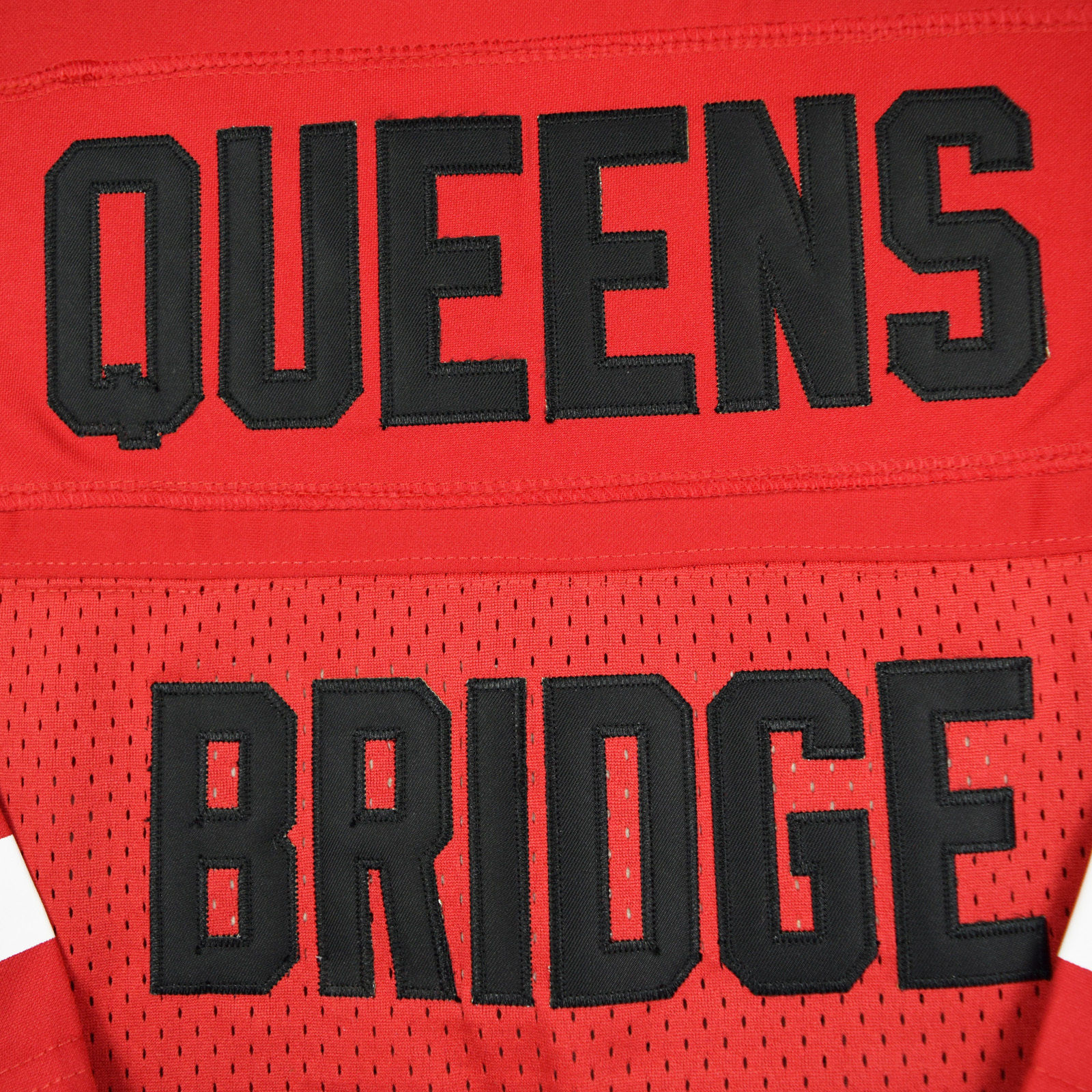 e7607c0a822 Prodigy #95 Hennessy Queens Bridge Movie Stitched Football Jersey Red NWT