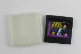 Poker Face Paul's Poker (Sega Game Gear, 1994) Game and Case - $8.39 CAD