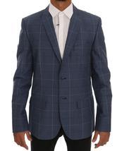 Blue Check Slim Fit Blazer Jacket - $375.00