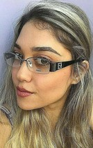 New FENDI F 1043R 035 51mm Gunmetal Semi-Rimless Women's Eyeglasses Frames - $149.99