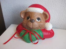 Vintage Ceramic Christmas Dog Decoration - $9.99