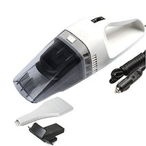 PANDA SUPERSTORE Vehicle Cleaner 60W DC-12V Wet-Dry Vacuums/Vacuum Cleaner,White image 2