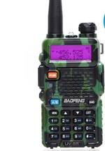Two Way Radio Uhf Ham Dual Walkie Talkie 3800mAh Plastics Portable Vox F... - £44.49 GBP
