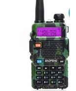 Two Way Radio Uhf Ham Dual Walkie Talkie 3800mAh Plastics Portable Vox F... - $55.43