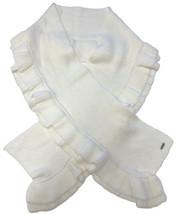 Calvin Klein Tiered Ruffle Scarf (Cream) - $41.68