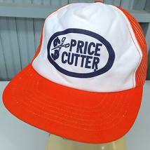 VTG Price Cutter Snapback Foam Front Mesh Baseball Cap Hat Made in USA - $15.69