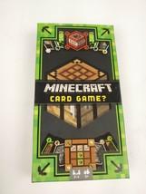 Minecraft Card Game Mattel - New Open Box - $9.97