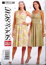 Butterick See & Sew Pattern B5201 Size 8-14 Misses' Dress Uncut 2 Styles... - $8.50