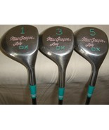 MacGregor LADY DX 1, 3 and 5   GOLF CLUB Steel Shaft Velocitized Right H... - $29.69