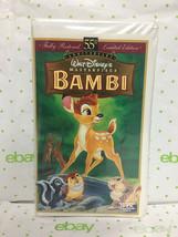 VHS Tape Bambi Fully Restored 55th Anniversary Ltd Edition - $15.79